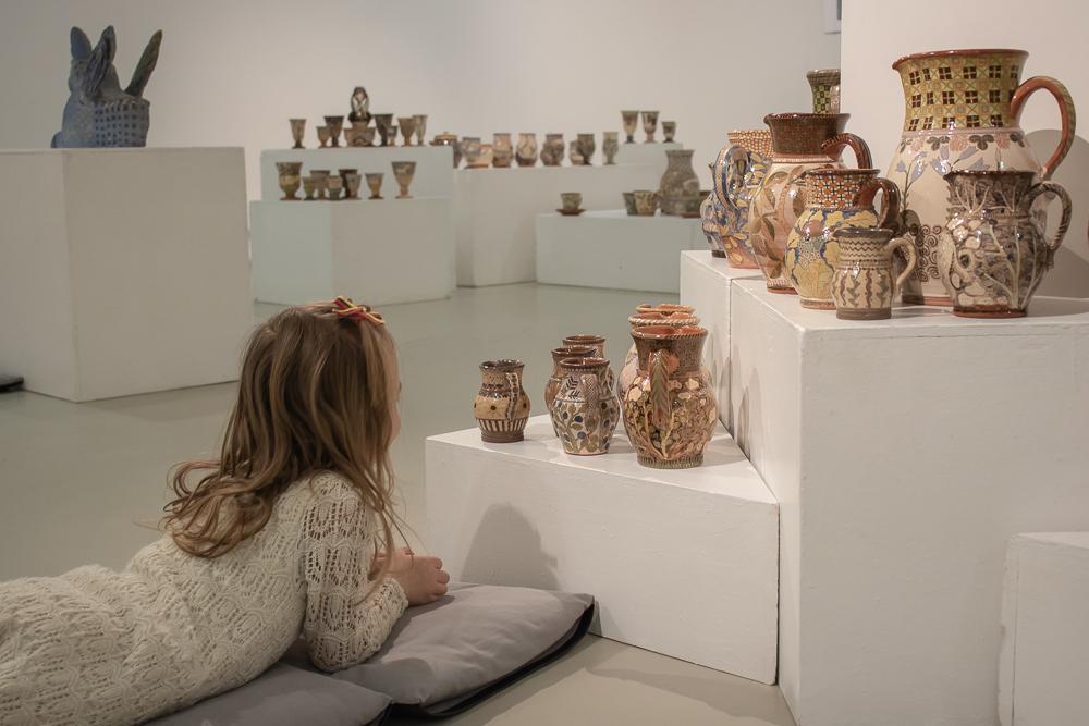 Rūtos Indrašiūtės keramikos paroda