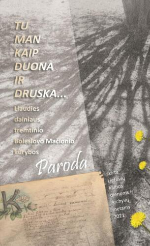 Maketas G. Markevičienės