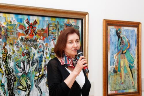 Vytauto Kasiulio dailės muziejaus vedėja Ilona Mažeikienė